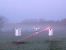 Laser Sensor detecting fog for automatic collection