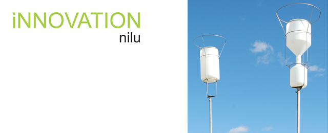 Simple collectors by NILU - RS 1 and SF 1 - Particulate Fallout collector SF 1 and precipitation collector RS 1