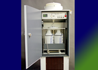 Precipitation collector NSA181/KD with 2x5000ml collection bottle and customised 2-fold distributor