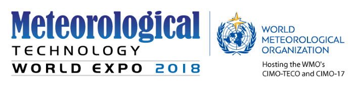 Exhibiting at Meteorological Technology World Expo 2018 - meet us there