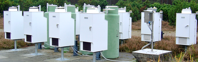 Eigenbrodt Precipitation collectors with cooling (K-version)